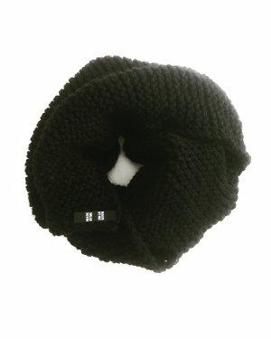 Vintage Écharpe en tricot noir