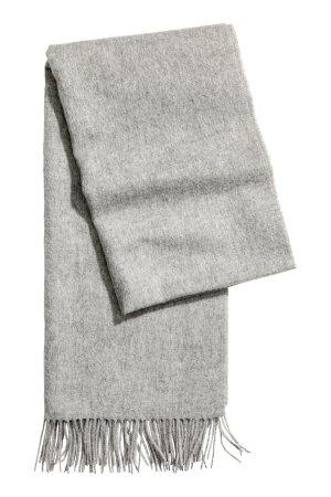 H&M Premium Sciarpa di lana multicolore Lana d'alpaca
