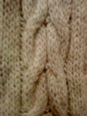 Basefield Wollen sjaal room-zandig bruin Wol
