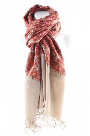 Woolen Scarf multicolored casual look
