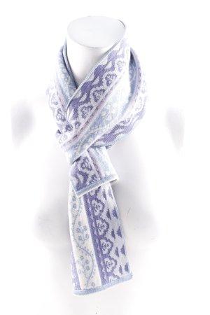 Sciarpa di lana multicolore stile stravagante