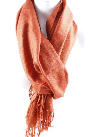 Sciarpa di lana ruggine