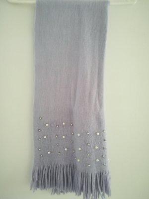 Six Bufanda de lana gris pizarra