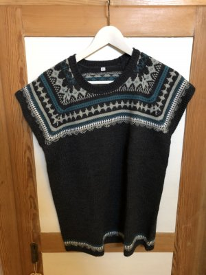 Knitted Jumper anthracite