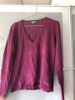 United Colors of Benetton Camicia maglia viola