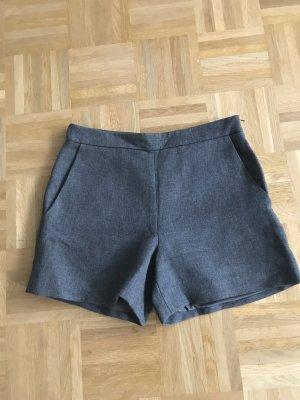 Hallhuber Shorts argento Viscosa