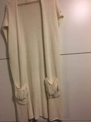 Esprit Cardigan a maniche corte crema-bianco sporco