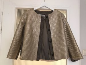 Wolltweed / Gold Blouson von Henry Cotton's