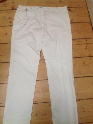 Armani Collezioni Pantalone chino bianco sporco Cotone