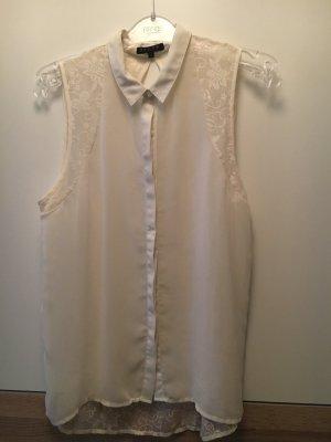 Review Lange blouse wolwit