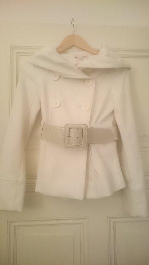 Wollweiße Jacke Größe XS / 34
