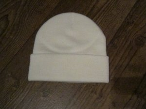 Cappellino bianco sporco