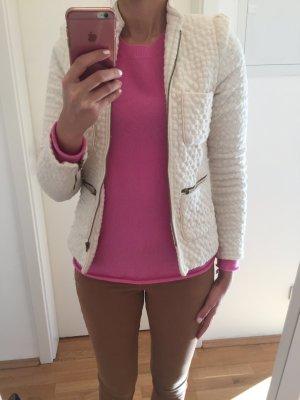 Wollweisser Blazer im Chanel-Stil