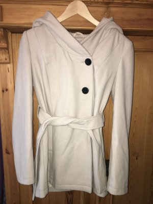 3 Suisses Short Coat natural white