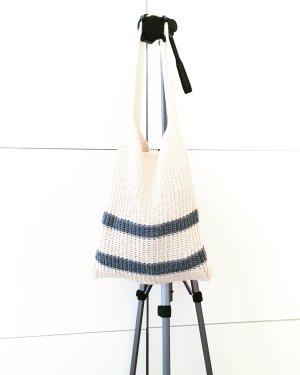 wollweisser strickbeutel / tasche / knits / shopping bag