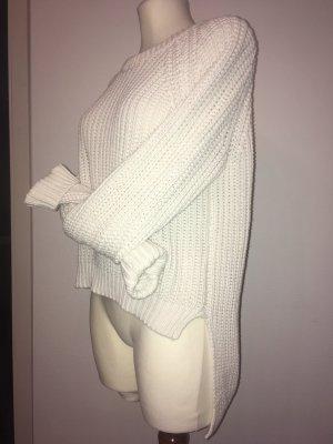 H&M Pull à gosses mailles blanc cassé