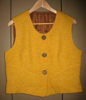 Wollweste, Vintage, Gr. 42
