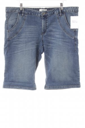 Woman by Tchibo Jeansshorts blau-graublau Webmuster Casual-Look