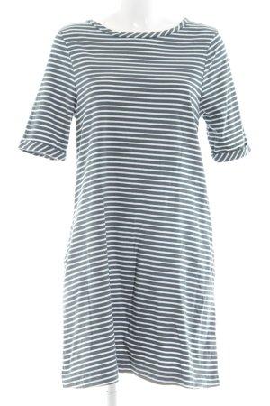 Woman by Tchibo Jerseykleid weiß-khaki Streifenmuster Casual-Look