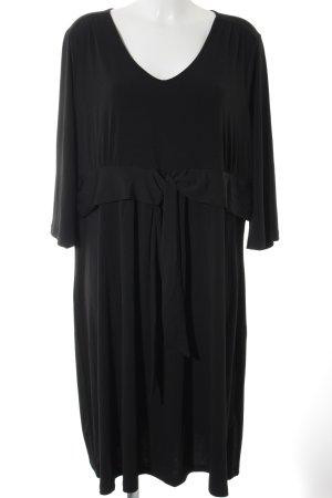 Woman by Tchibo Langarmkleid schwarz schlichter Stil