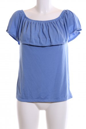 Woman by Tchibo schulterfreies Top blau Casual-Look