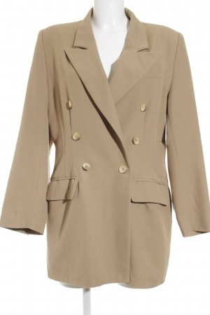 Woman Collection H&M Long-Blazer camel klassischer Stil
