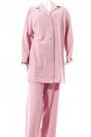 Woman's Fashion Trouser Suit pink casual look