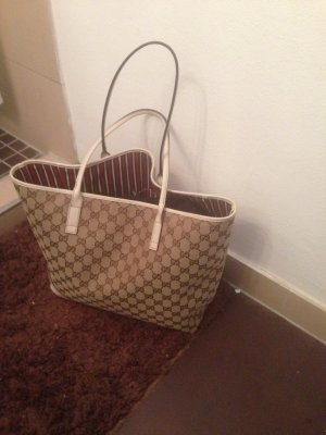 Women Bag/Purse Gucci Gg Canvas Tote Serial Nr.169945 1013.