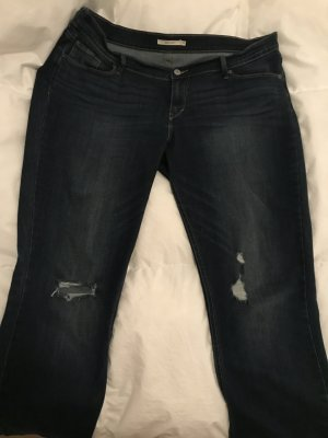 Women's Levi's 524 Skinny Jeans Ripped 44