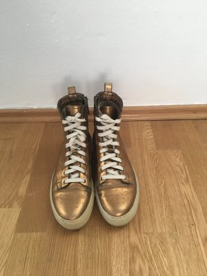 Women's Northfield Metallic Leather Laceup Sneakers