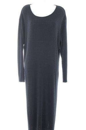 Women's Selection Longsleeve Dress black minimalist style