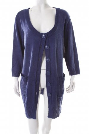 Women's Selection Strick Cardigan blau Casual-Look