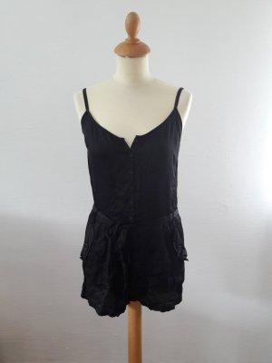 Women' Secret Jumpsuit schwarz S 36 kurz Träger Einteiler Women'Secret