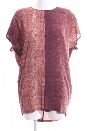 Won Hundred Vestido estilo camisa rosa-marrón degradado de color look casual