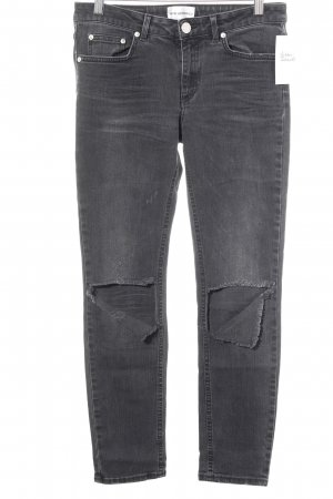 Won Hundred Skinny Jeans anthrazit Casual-Look