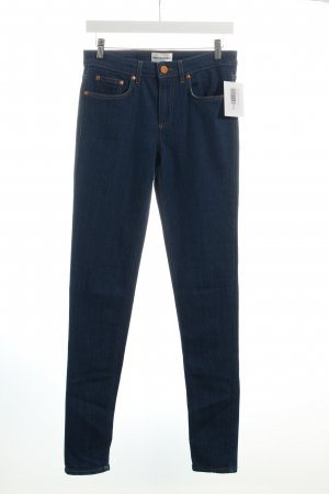 Won Hundred Stretch Jeans blau Casual-Look