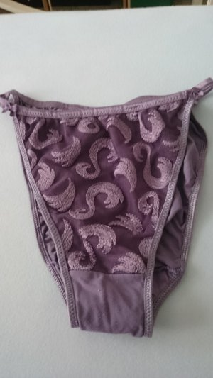 Braguita violeta grisáceo-lila grisáceo Fibra sintética