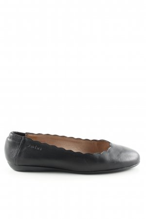 wonders Foldable Ballet Flats black business style