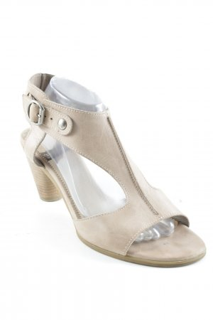 wonders High Heel Sandaletten hellbraun Casual-Look