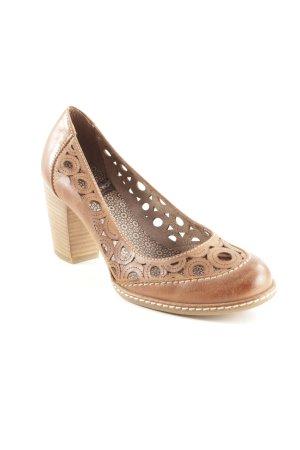 wonders High Heels braun Casual-Look