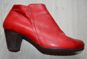 wonders rote Ankle Boots