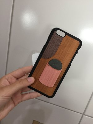 Wood'd iPhone Case 6/6s NEU