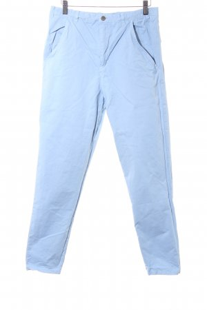 Wood Wood Chinohose himmelblau Casual-Look