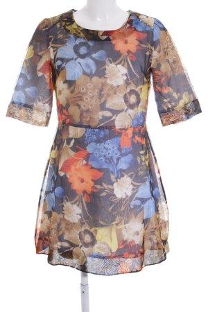Wood Wood Minikleid florales Muster Elegant