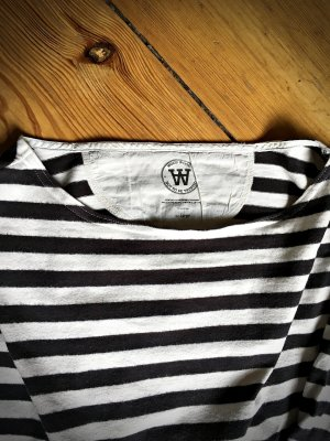 Wood Wood Oversize Sweatshirt 90s Stripes Größe L (38 40 42)