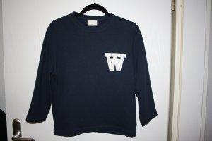 Wood Wood Pullover dunkelblau