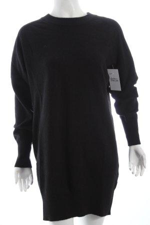 Wood Wood Pulloverkleid schwarz schlichter Stil