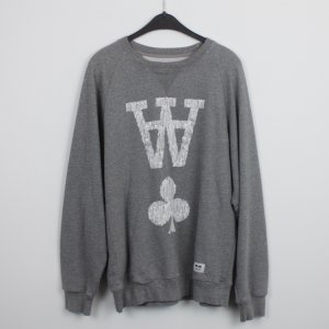 WOOD WOOD Sweater Gr. M grau (18/9/474)