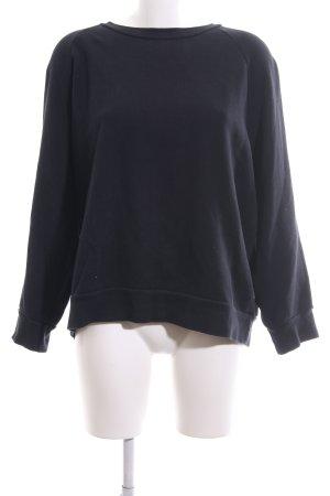 Wood Wood Sweatshirt schwarz Casual-Look