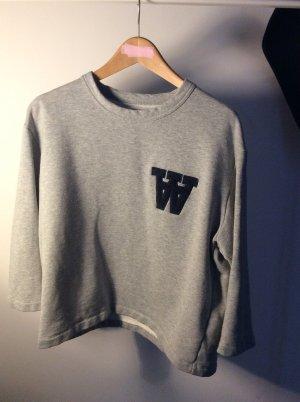 Wood Wood Sweatshirt Kastenschnitt